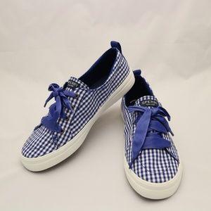 Sperry Women Crest Vibe Gingham Sneaker